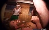 Molesting a blonde milf
