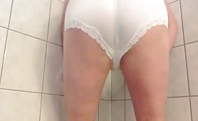 Shitting in wifes panties