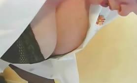 Mature lesbian scat video