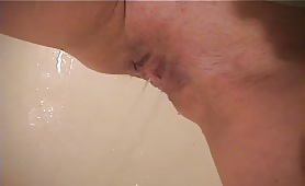 Mistress pooping on her male slave