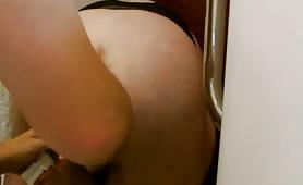 Enema with sexy bbw