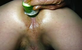 Spreading his butt chicks