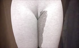 Pad pee in leggings