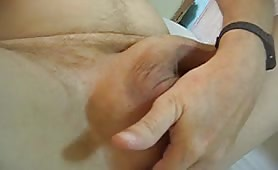 Fingering his ass