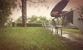 Park bench - diarheea