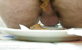 Plate full of shit
