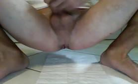 Masturbating while pooping