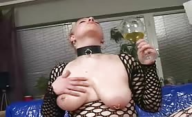 kinky girl drinks her own piss poops and does scat in hd