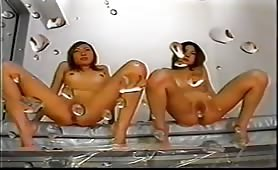 Two Asian Girls Have Dirty Fun