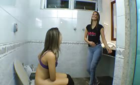 Brazillian Girl Shits and Farts
