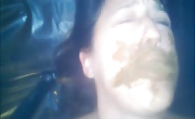 Amateur eating scat swallowing shit tube