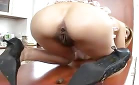 Slut playing with her shit amateur scat eating